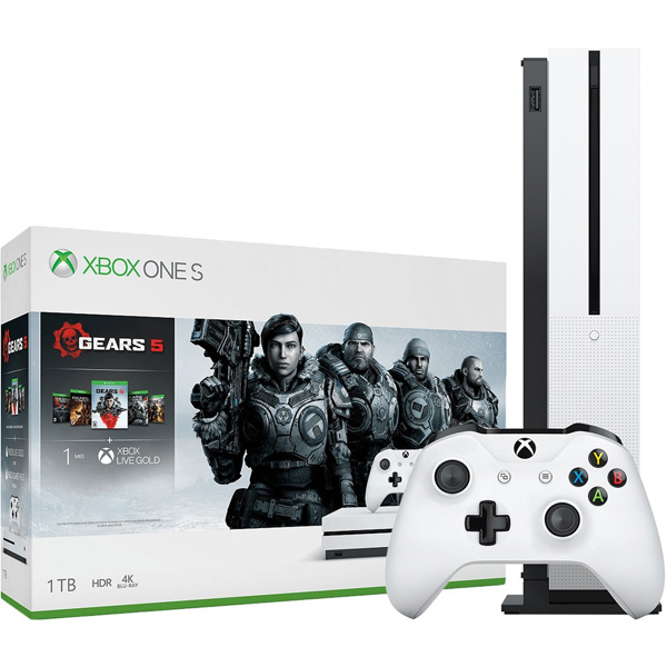 Игровая консоль Xbox One S 1TB + Gears 5 (234-01030)