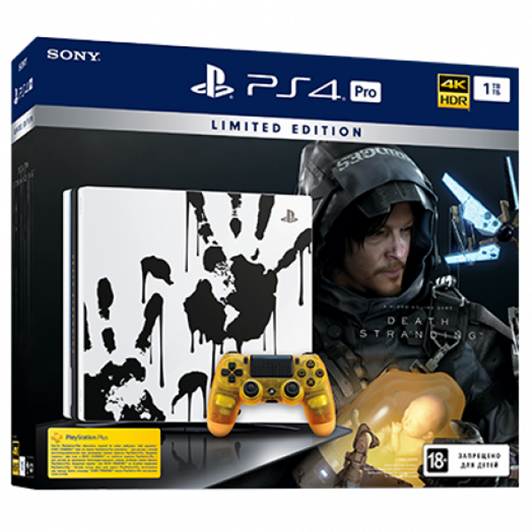 Игровая консоль Sony PS4 Pro 1TB Death Stranding G/RSC (CUH-7216B) (PS719327608)