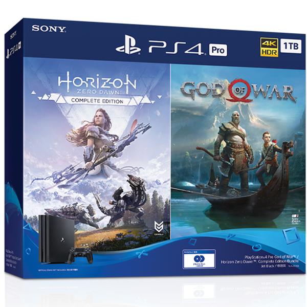 Игровая консоль Sony PS4 Pro 1TB Gamma GOW/HZD CE (CUH-7208B)