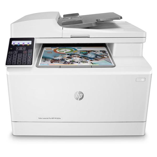 Лазерное МФУ HP Color LaserJet Pro M183fw 7KW56A
