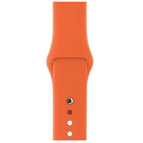 Ремешок Apple 42mm Spicy Orange Sport Band  S/M & M/L (MQUW2)