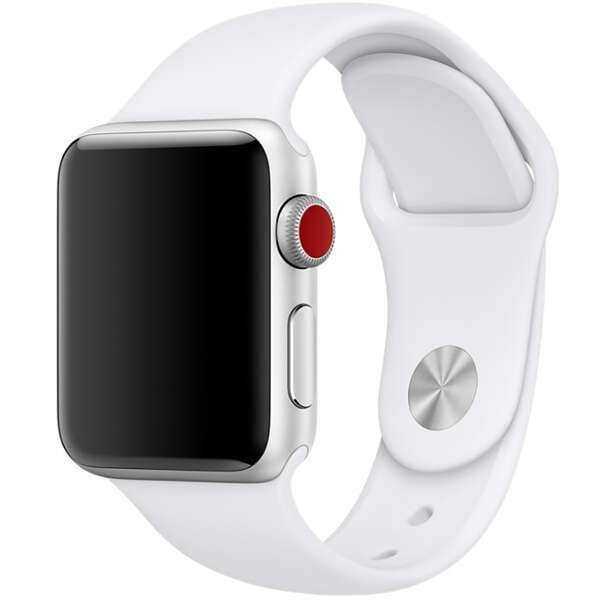 Ремешок Apple 42mm White Sport Band M/L & L/XL (ML9H2)