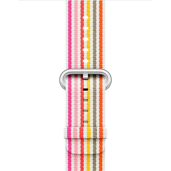 Ремешок Apple 42mm Pink Stripe Woven Nylon (MRHD2)