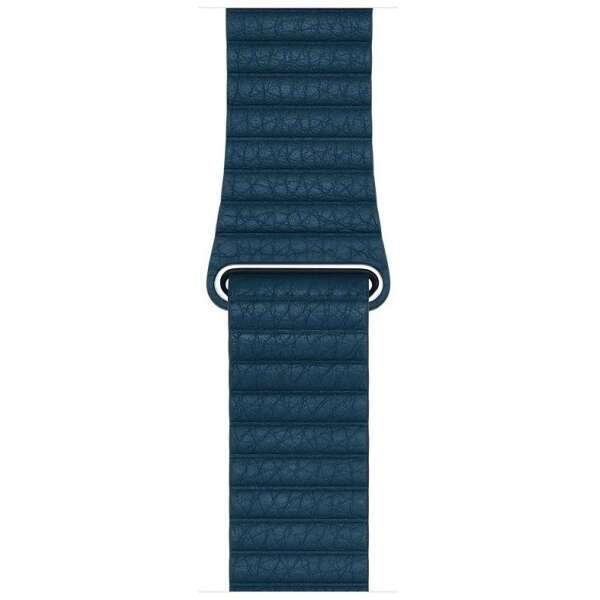 Ремешок Apple Watch Leather Loop, 42 мм, (Cosmos Blue)