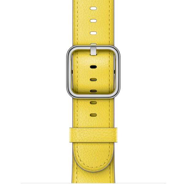 Ремешок к Apple Watch Classic Buckle MRP72, Spring Yellow