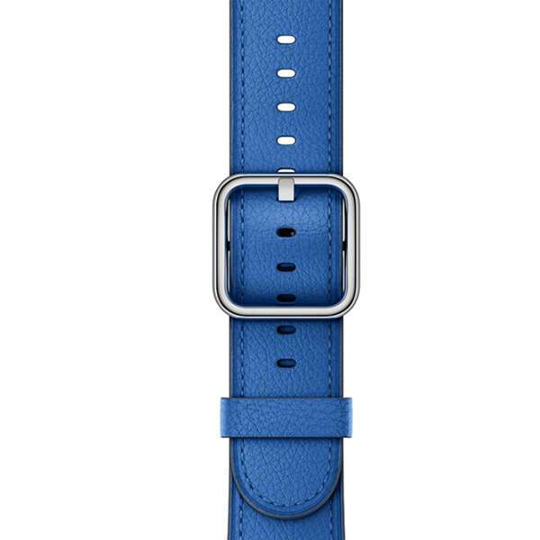 Ремешок Apple 42mm Electric Blue Classic Buckle (MRP52)