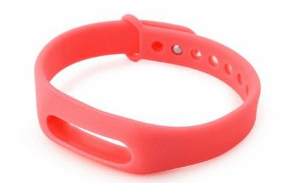 Ремешок к фитнес браслету  Prime Mi Band, розовый