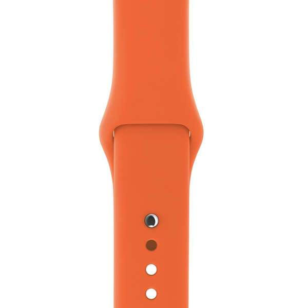 Ремешок Apple 38mm Spicy Orange Sport Band S/M & M/L (MQUT2)