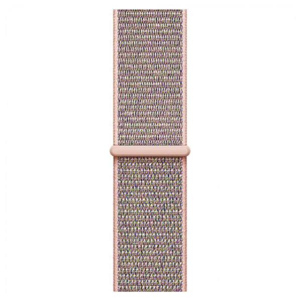 Ремешок Apple 38mm Pink Sand Sport Loop (MQW02)