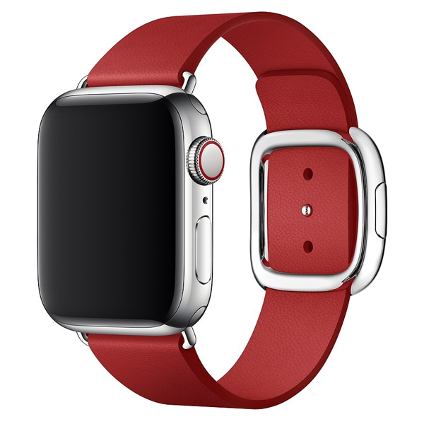 Ремешок Apple 40mm Red Modern Buckle Band Medium (MTQU2) Product