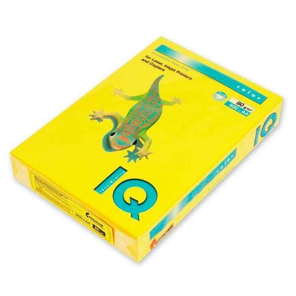 Бумага IQ Color Intensive IG50 (горчичный)