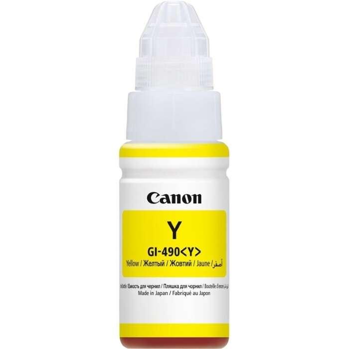 Чернила для картриджа Canon GI490Y