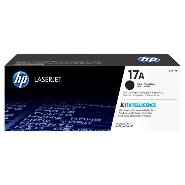 Картридж лазерный HP CF217A Черный