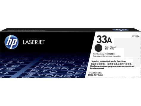 Картридж лазерный HP CF233A, черный