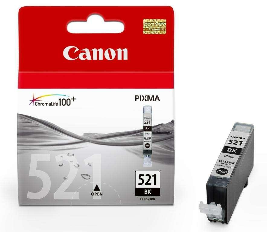 Картридж CANON  CLI-521 Bk