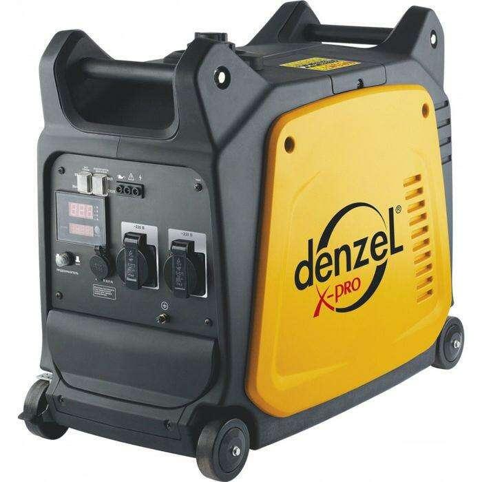 Генератор инверторный DENZEL GT-2600i, X-Pro, 2.6 кВт, 220 В, 7.5 л, ручной старт