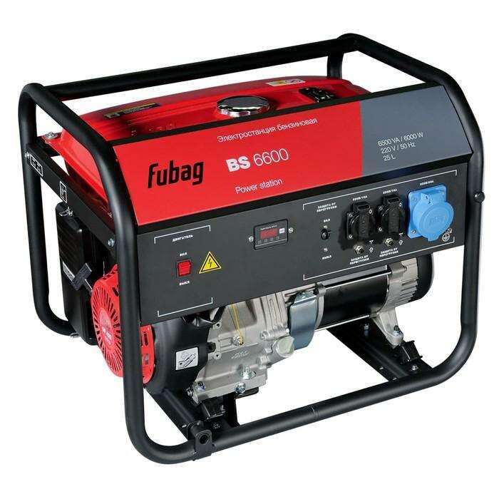 Электростанция Fubag BS 6600, бенз. 6.5 кВт, 220В