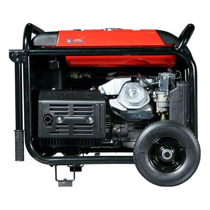 Генератор инверторный FUBAG TI 7000 A ES, 220 В, 6.5 кВт, 25 л
