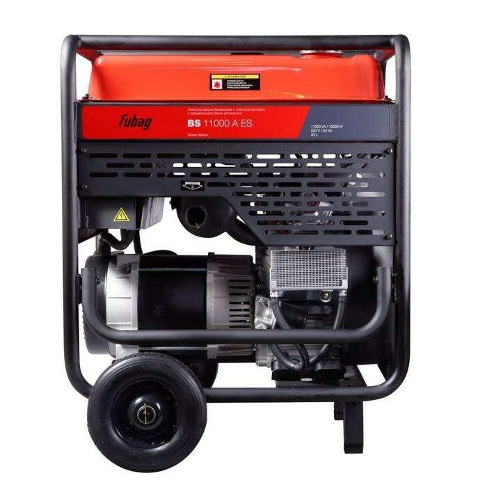 Генератор Fubag BS 11000 A ES, бенз., электростартер, 10 кВт, 220 В