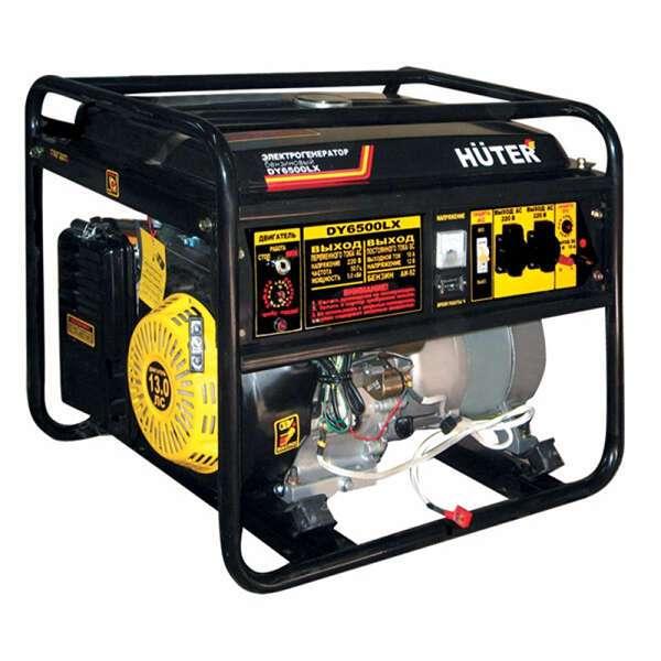Электрогенератор Huter DY 6500LX