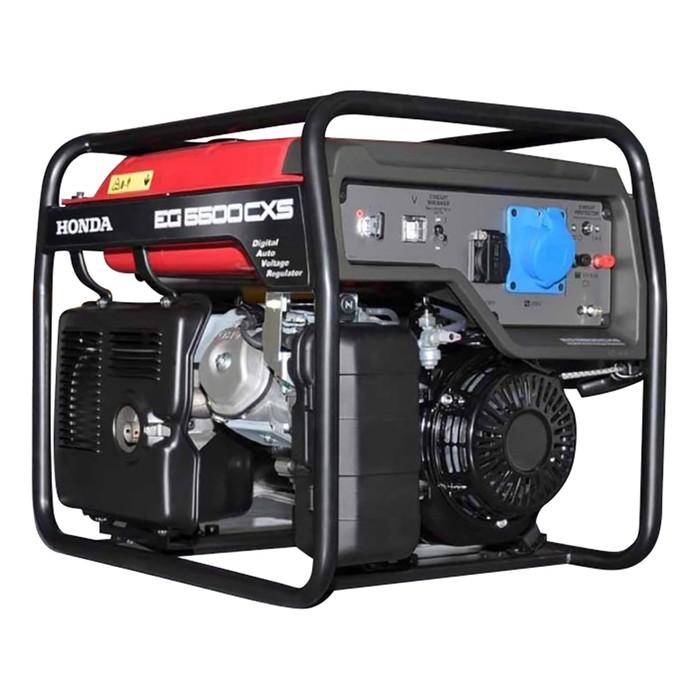Генератор Honda EG5500CXSRGH, бенз. GX 390, 5/5.5 кВт, 24 л, ручной/эл. старт, БЕЗ АКК