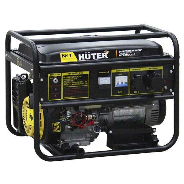 Электрогенератор Huter DY 9500 LХ-3