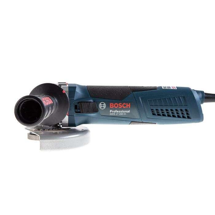 Машина углошлифовальная BOSCH GWS 17-150 CI (06017980R6), 1700 Вт, 9300 об/м, 150 мм