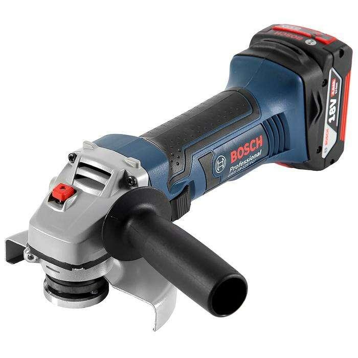 Углошлифовальная машина Bosch GWS 18-125 V-LI