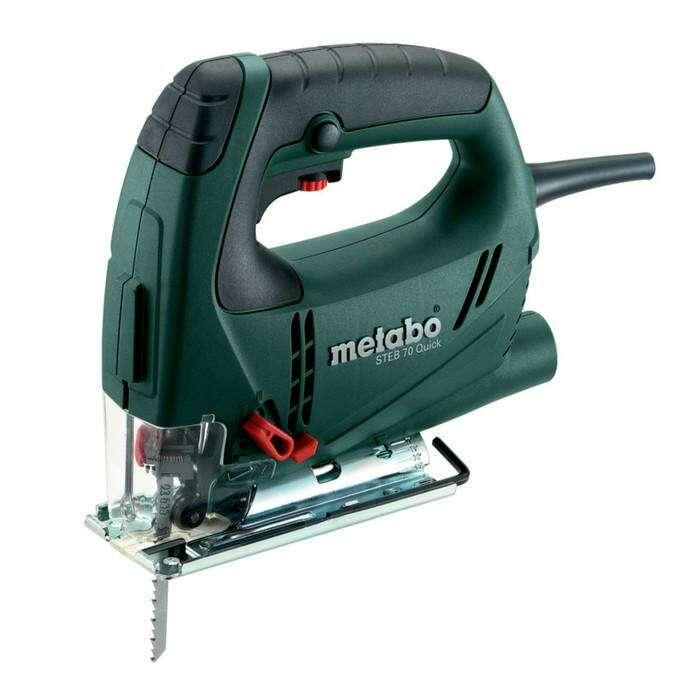 Лобзик электрический Metabo STEB 70 Quick, 570 Вт, 900-3300х/мин, кейс