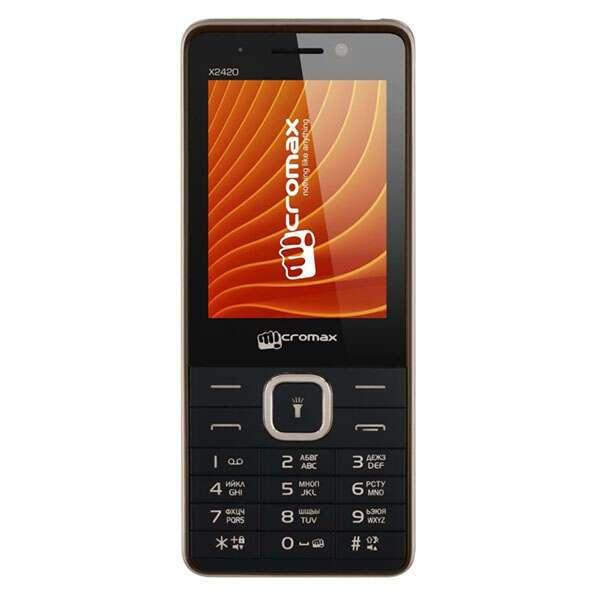 Мобильный телефон Micromax X2420 (Black champagne)