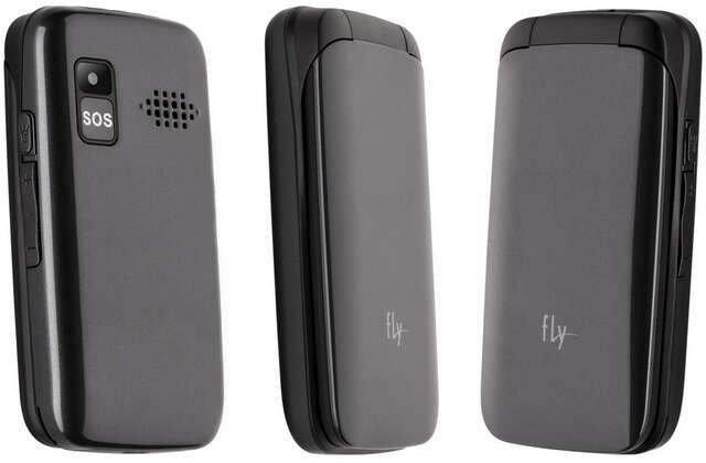 Мобильный телефон Fly  Ezzy Trendy 3 (Dark Grey)