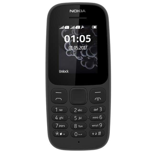 Сотовый телефон Nokia 105 2017 DS EAC UA Black