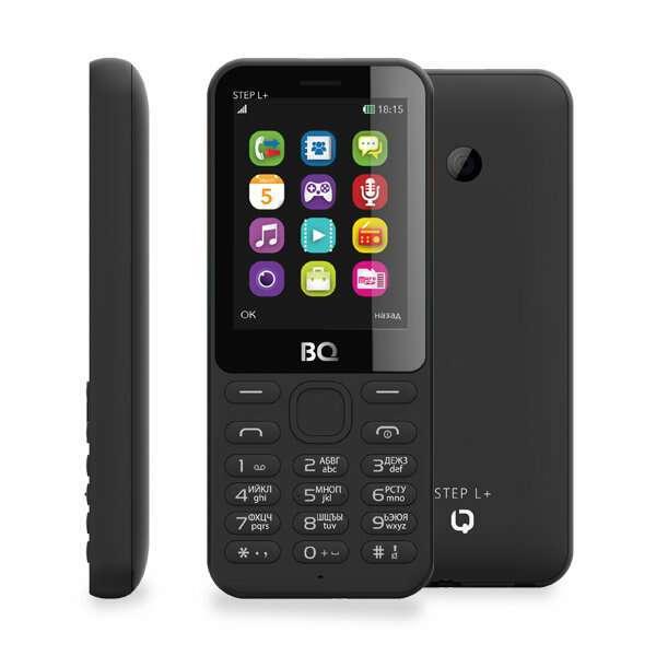 Мобильный телефон BQ  2431 Step L+ черный