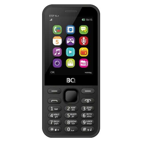 Мобильный телефон BQ 2831 Step XL+ (Black)