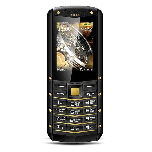 Мобильный телефон TeXet TM-520R (Black-yellow)