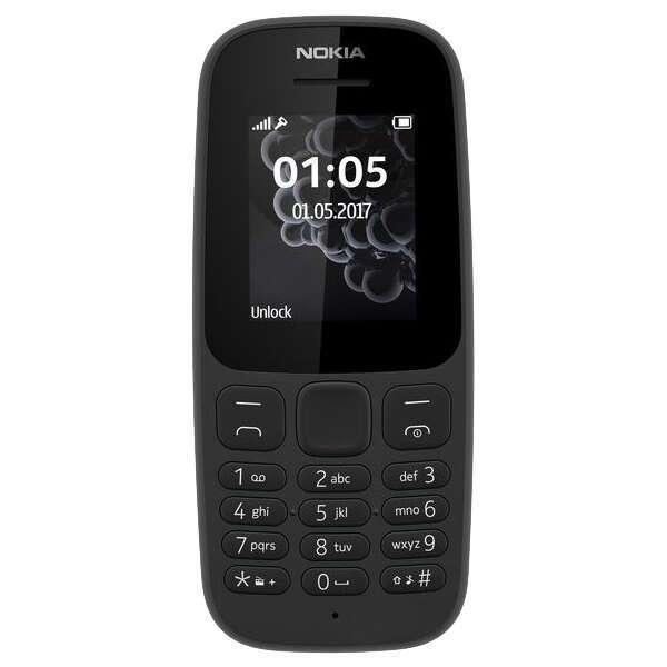 Мобильный телефон Nokia 105 TA-1010 Black