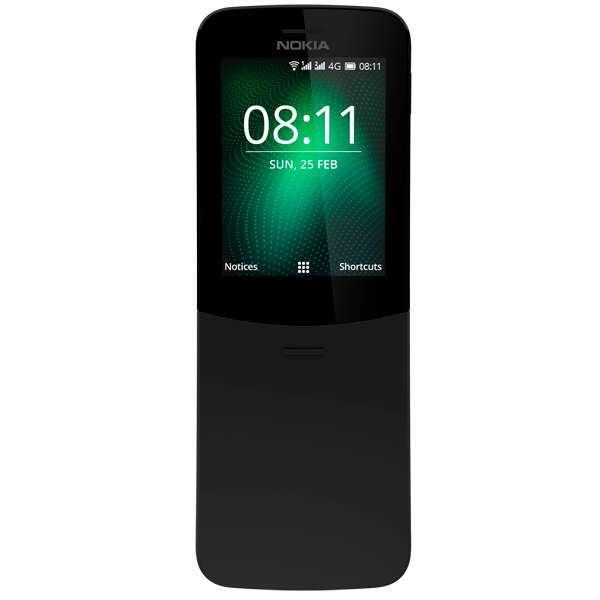 Мобильный телефон Nokia 8110 DS EAC UA Black