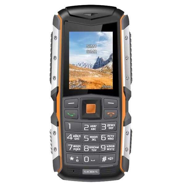 Мобильный телефон TeXet TM-513R (Black-orange)