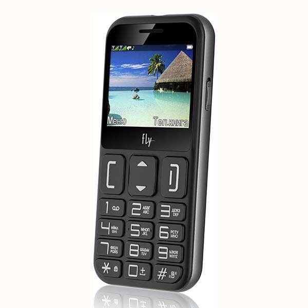 Мобильный телефон Fly Ezzy 9 (Black)