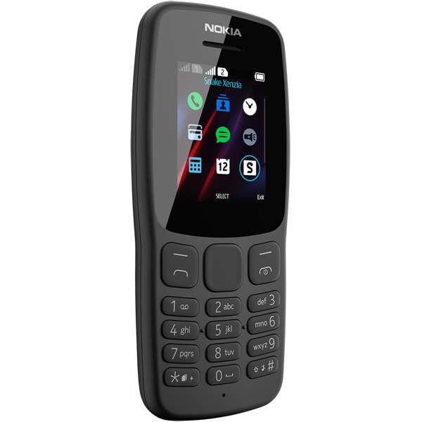 Мобильный телефон Nokia TA-1114 106 DS   Gray