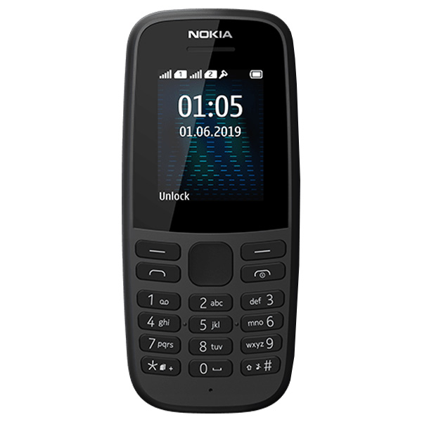 Сотовый телефон Nokia 105 Black (TA-1174) DS EAC UA