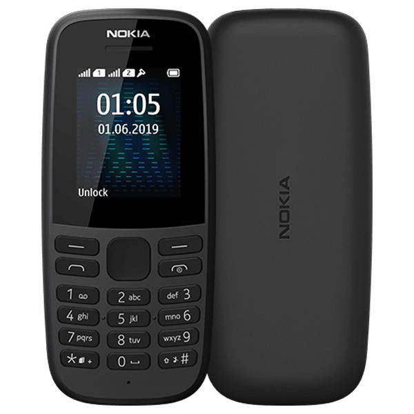 Мобильный телефон Nokia 105 TA-1174 DS Black