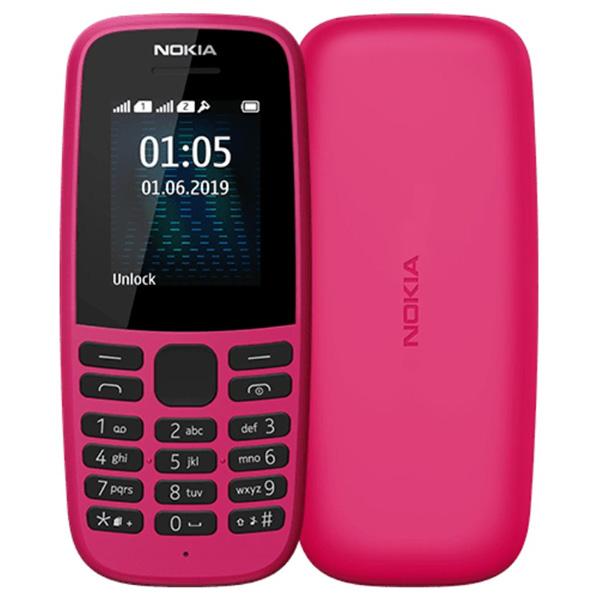 Мобильный телефон Nokia 105 TA-1174 DS Pink