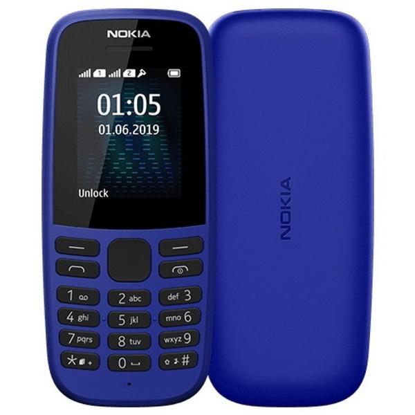 Мобильный телефон Nokia 105 TA-1174 DS Blue