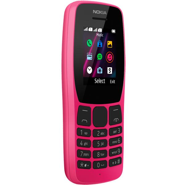 Мобильный телефон Nokia 110 TA-1192 Pink