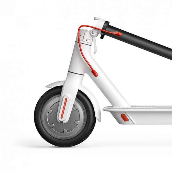 Электрический самокат Xiaomi Mi Electric Scooter White