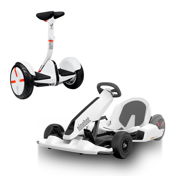 Электросамокат Ninebot Segway Gokart Kit White +Mini S-Pro White