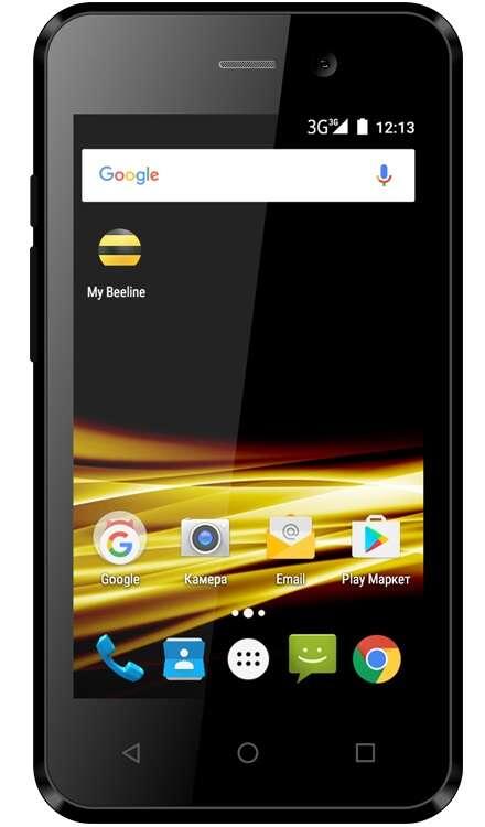 Смартфон Beeline Smart 8 Черный + ТП Всё 1500