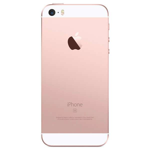Смартфон Apple iPhone SE 32GB Rose Gold (MP852RK)