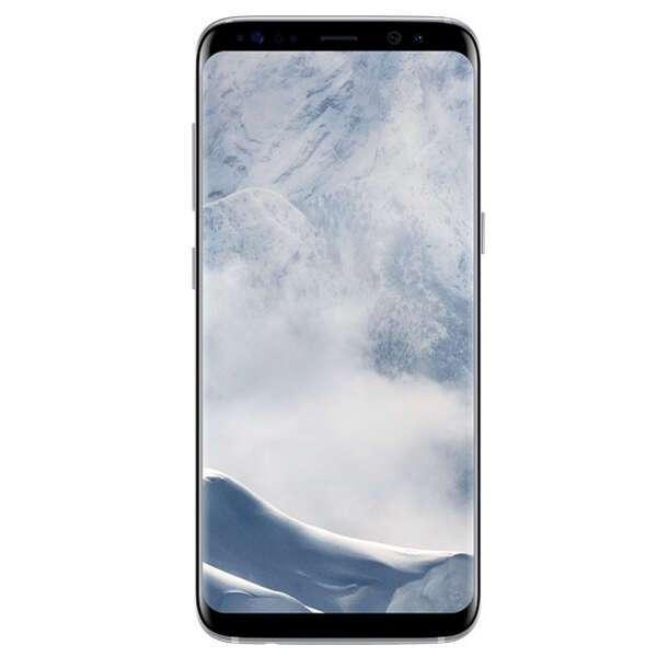 Смартфон Samsung Galaxy S8 LTE (Silver)
